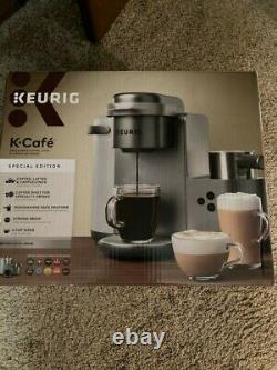 Keurig K Cafe Special Edition Coffee Cappuccino & Latte Maker Single Serve Cup