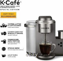 Keurig K Cafe Special Edition Coffee Maker Latte Single Serve Cup K-CAFE