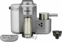 Keurig K Cafe Special Edition Coffee Maker Latte Single Serve Cup Pod Nickel 12A