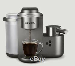 Keurig K Cafe Special Edition Coffee Maker Latte Single Serve Cup Pod Nickel NOB