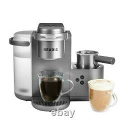 Keurig K-Cafe Special Edition Coffee Maker, Single Serve K-Cup Pod Nickel