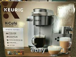 Keurig K-Cafe Special Edition Single Coffee Latte Cappuccino Maker Milk Frother