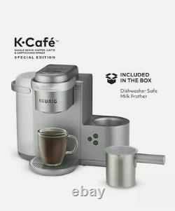 Keurig K-Cafe Special Edition Single Serve K-Cup Pod Coffee Maker Nickel