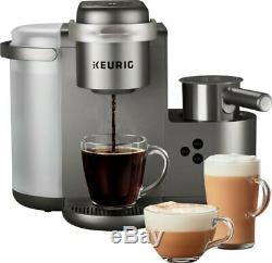 Keurig K-cafe Special Edition Single Serve K-cup Pod Coffee Maker In Nickel