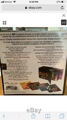 Kiss Casablanca Singles Box Set. 45s Vinyl. Still Sealed