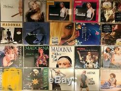 MADONNA Collection 84 Cds RARE DELETED IMPORT singles+albums+extras