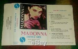 MADONNA Dance Mix URUGUAY TAPE CASSETTE ULTRARARE