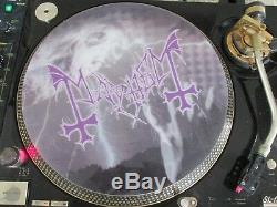 MAYHEM Funeral Fog (Studio Version) Ultra Rare Picture Disc 12 Single LP