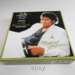 MICHAEL JACKSON 25th THRILLER Limited Japanese single collection 7CD