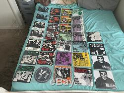 MISFITS massive 7 EPS & Singles Lot Samhain Danzig 118 vinyl records rare Look