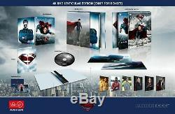 Man Of Steel HDZeta Exclusive Single Lenticular 4K Blu-ray Steelbook PREORDER