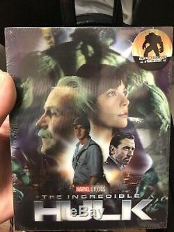 Marvel The Incredible Hulk Blufans Single Lenticular Steelbook 4K UHD INSURED