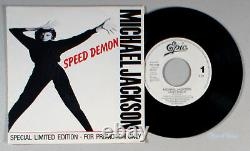 Michael Jackson Speed Demon (7 Single) (1989) Vinyl 45 PROMO IMPORT Bad
