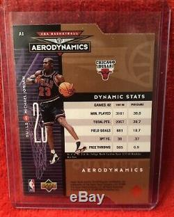 Michael Jordan Upper Deck Special Edition GOLD #SE100 & Aerodynamic 246/2000