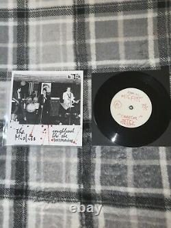 Misfits Cough/Cool b/w She Test Pressing # 3/5 with Cool Alternate Art Sleeve