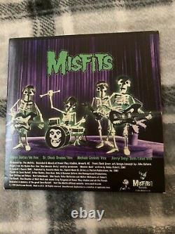 Misfits Monster Mash 7 Glow In The Dark Colored Vinyl Samhain Danzig Rare
