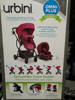 NEW Urbin Omni Plus 3 in 1 Travel System, Special Edition. Stroller and car-seat