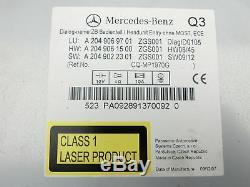 Navigationssystem Navi Headunit für Mercedes W204 S204 C200 07-14 A2049069701