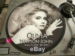 Olivia Newton-John Culture Shock Mega Rare 12 Picture Disc Promo Single LP
