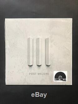 POST MALONE White Iverson / Too Young 12 Single White Vinyl Record RSD 2016 EP
