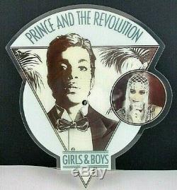 Prince & The Revolution GIRLS & BOYS, Shaped Picture Disc, Paisley Park/UK, 1986