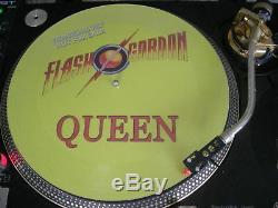 Queen Flash Gordon Ultra Rare 12 Picture Disc Single Promo LP NM