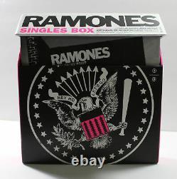 RAMONES 7 Singles Box 45rpm Punk I Wanna Be Sedated, Blitzkrieg Bop, more