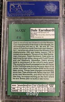 RARE GEM MT 10 1989 Maxx Crisco Special Crisco Edition Dale Earnhardt