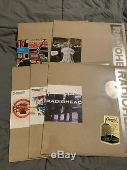 Radiohead 2009 Vinyl Bundle 5 Limited 12 Singles Sealed
