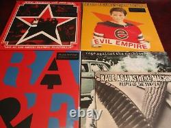 Rage Against The Machine Limited Edition 7 Lp Set With 10 Inch Single & Live Set