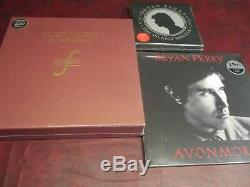 Roxy Music Studio 8 Albums 180 Gram Box Set + Bryan Ferry Lp + 45 Singles + CD