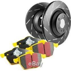 S9KF1124 EBC Brake Disc and Pad Kits 2-Wheel Set Front New for Chevy De Ville
