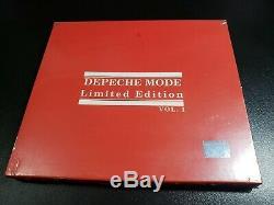 SEALED Depeche Mode The Singles 81-85 BRAZIL LTD SLIPCASE -101 violator exciter