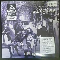 SINGLES SOUNTRACK NEWBURY COMICS EXCLUSIVE WHITE/ BLUE MARBLED VINYL With BONUS CD