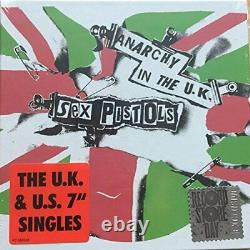 Sex Pistols / Anarchy in the UK UK and US Singles (5x7in)