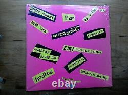 Sex Pistols Never Mind The Bollocks SEALED 2007 Vinyl Record Poster & 7 Single