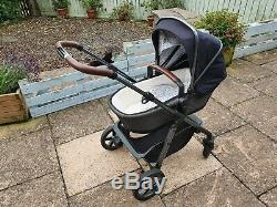 Silver Cross Pioneer Special Edition Pram Henley Pushchair & carrycot