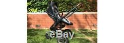 Silver Cross Surf Special Edition Graphite Henley Pram. Used twice