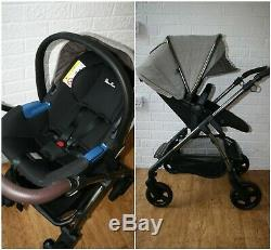 Silver Cross Wayfarer Special Edition Expedition pram travel system 3 in 1 brown