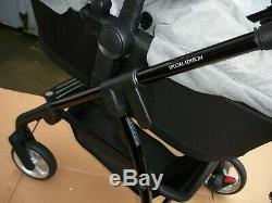 Silvercross wayfarer special edition eton grey travel system with extras