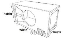 Stage 1 Special Edition Ported Subwoofer Box Skar Audio Evl-15 Evl15 15 Sub