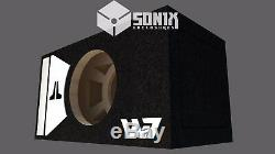 Stage 2 Special Edition Ported Subwoofer Box Jl Audio 10w7ae Sub White