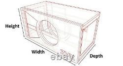 Stage 2 Special Edition Ported Subwoofer Box Skar Audio Zvx-8 Zvx8 8 Sub