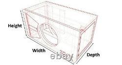 Stage 3 Special Edition Ported Subwoofer Box Skar Audio Zvx-8 Zvx8 8 Sub