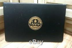 Star Wars Twenty Years Special Edition 24k Gold card Poster Collection #5 1997