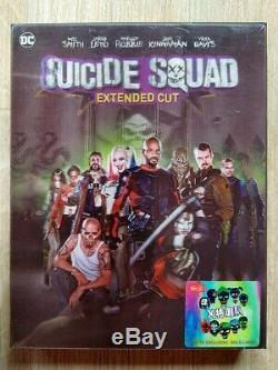 Suicide Squad HDZeta Single Lenti Joker Edition 2D/3D Blu-ray Steelbook New