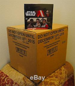 TOPPS Star Wars The Force Awakens Series 1 Special Edition 16/24 Hobby Box CASE