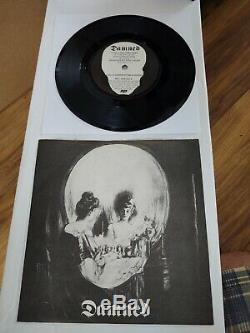 The Damned 7 Inch Stretcher Case Baby/sick Of Being Sick Mint Vinyl Punk Rock