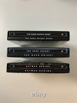 The Dark Knight Trilogy HDZeta 4K Single Lenticular Blu-ray Steelbook 404/1000