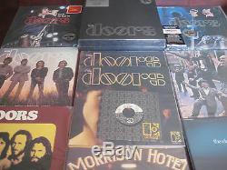 The Doors 7 Lp Box Set 180 Gram Sealed + 7 Lp Bonus + Single + Live Lp's + Cd's